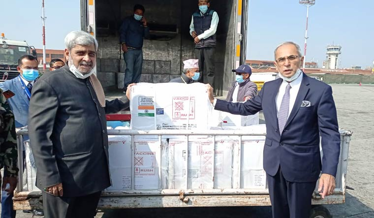 india-nepal-covaxin-vaccines-arrive-mea-twitter