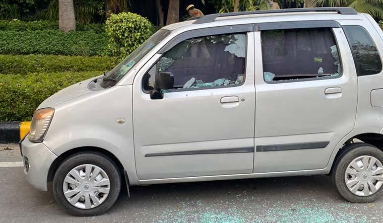car damaged israeli embassy blast