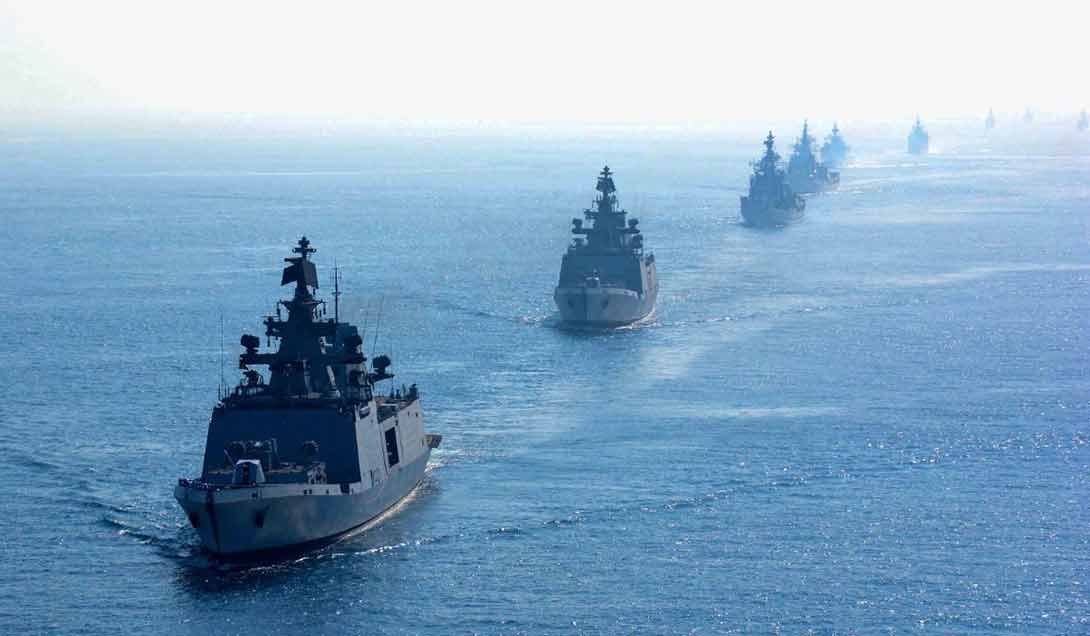 Indian-Navy-TROPEX-ships