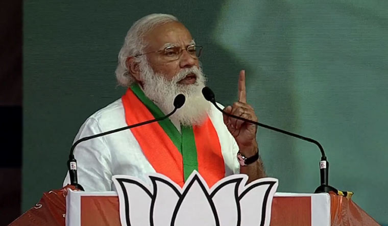 Prime Minister Narendra Modi   Twitter / BJP