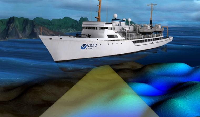 rep image of survey ship noaa