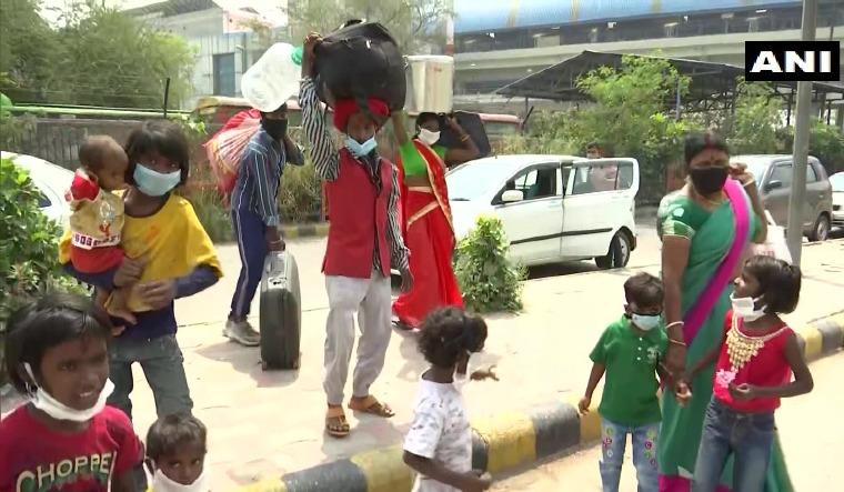 migrants delhi