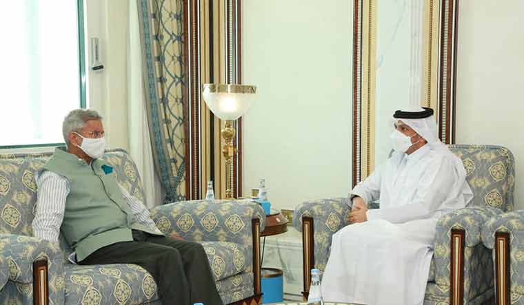 Jaishankar discusses bilateral cooperation in second visit to Qatar in a week