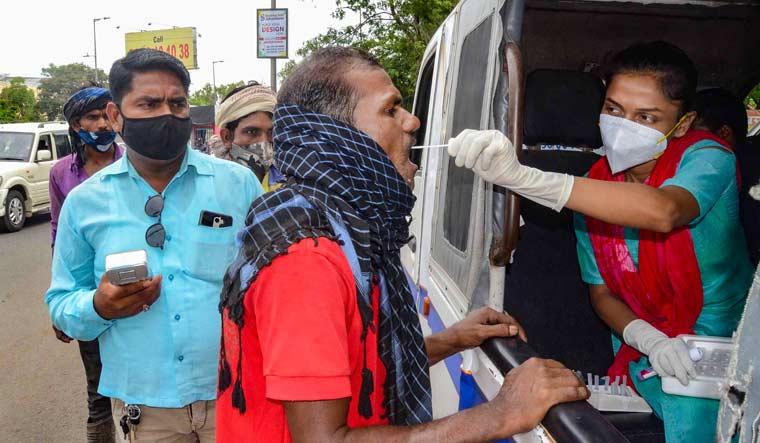madhya-pradesh-sample-test-covid-bhopal-pti