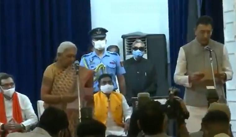 Ex-Congress leader Jitin Prasada among new faces inducted into Yogi cabinet