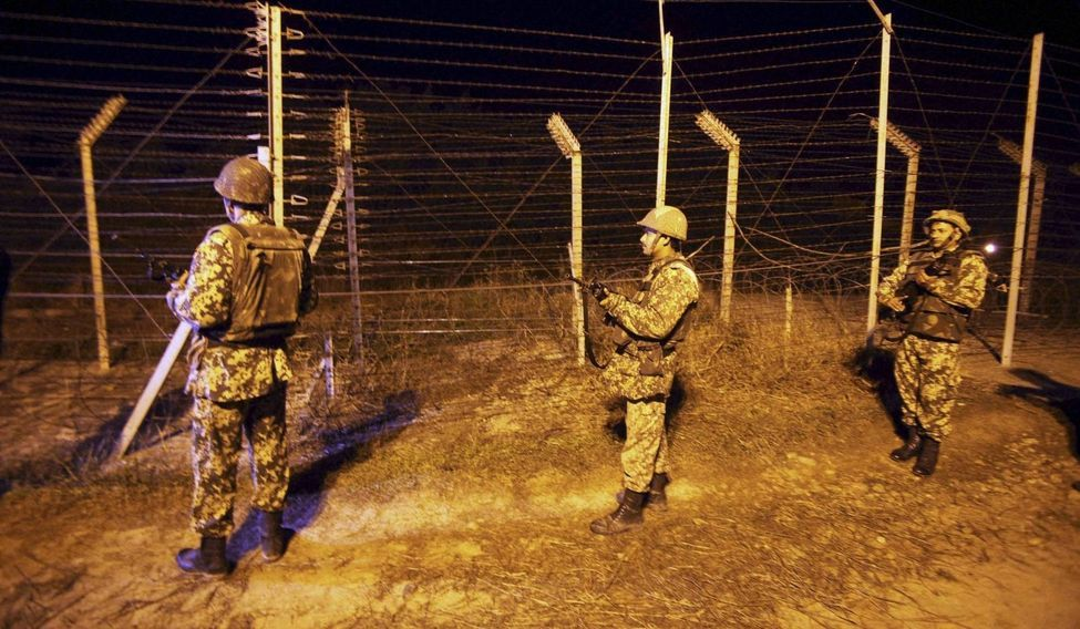 Injured in Pak firing, 14-month-old girl battles for life