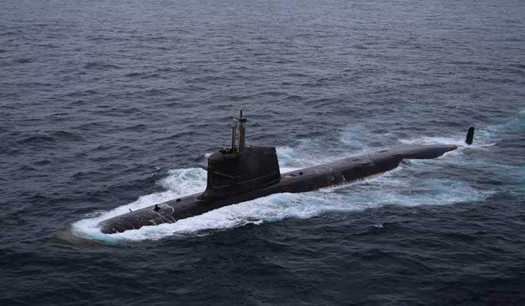 Kalvari class submarine of the Indian Navy | via Commons