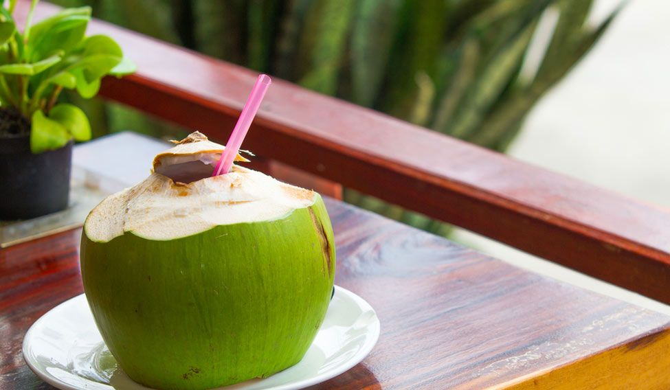 Image result for What is the Best Time to Drink Coconut Water?