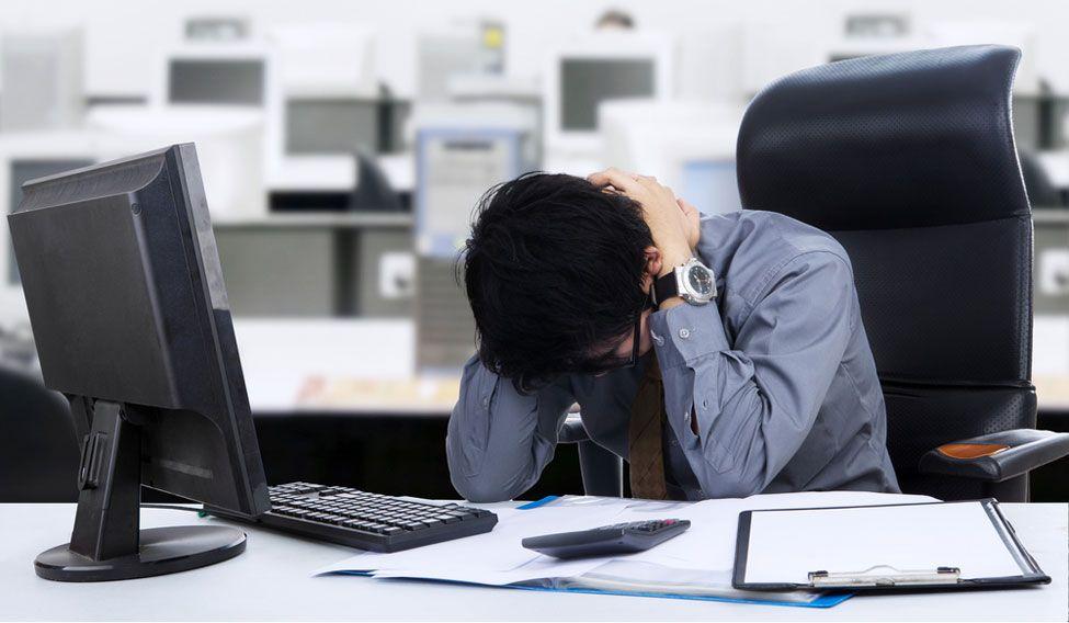 office-frustration