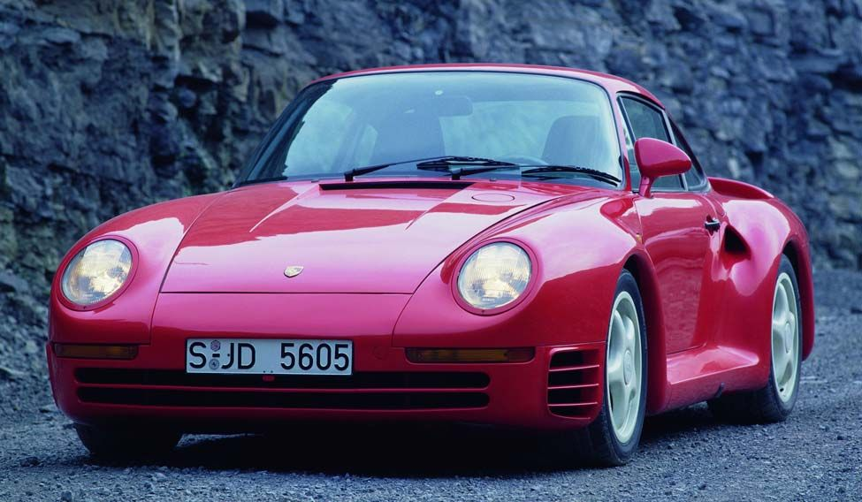 Celebrating 30 years of the Porsche 959