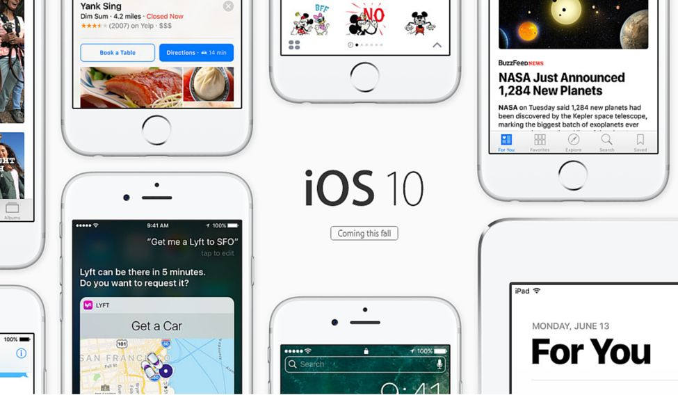 5 best new features of iOS 10!
