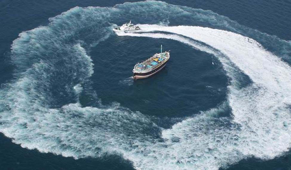 Suspected Pakistani boat apprehended by Coast Guard