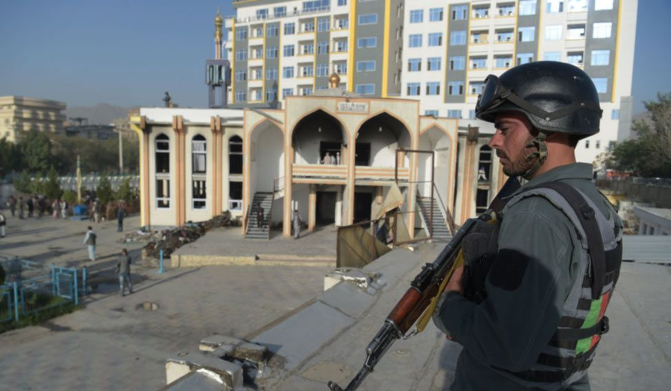 AFGHANISTAN-UNREST-MOSQUE