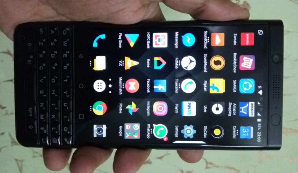'KEYone': Android-QWERTY experience adds to the nostalgia