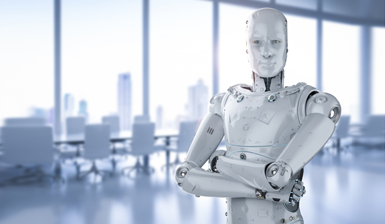 Chinese residential hub deploys high-tech robot security guard