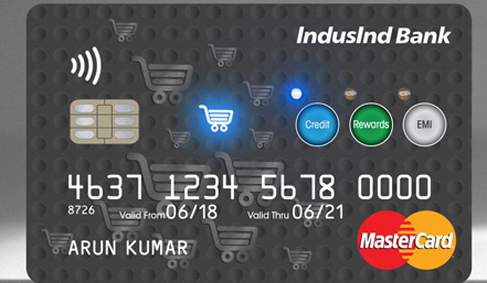 IndusInd-MasterCard-interactive-card