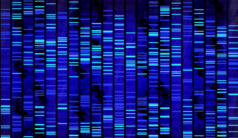 genome-sequencing-pattern-in-bright-colors-DNA-genome