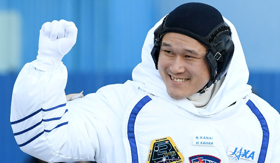SPACE-LAUNCH/JAPAN-ASTRONAUT