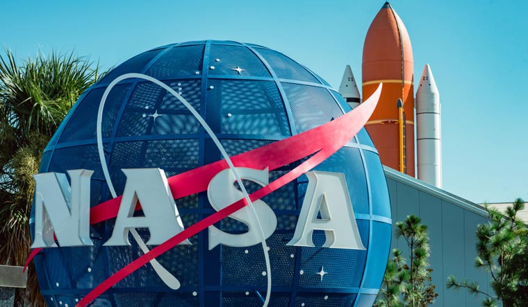 Cape-Canaveral-Florida-NASA-globe-logo-Kennedy-Space-Center-shut