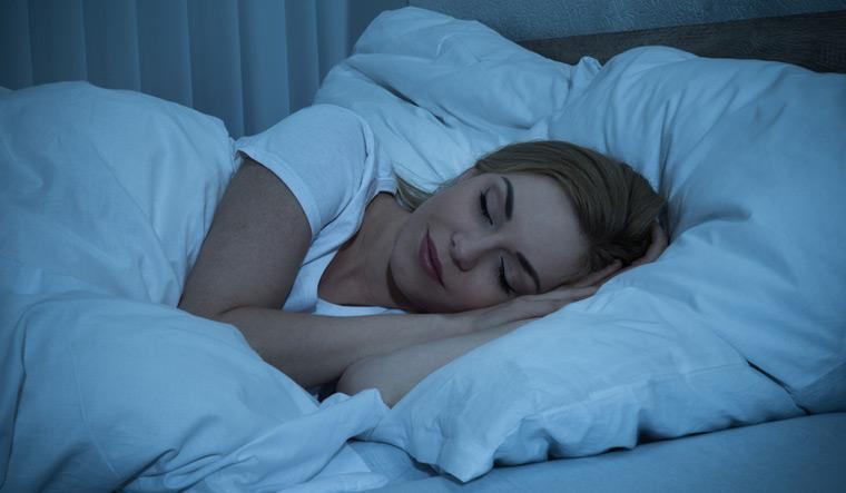 goodnight-sleep-woman-bedtime-bed-shut