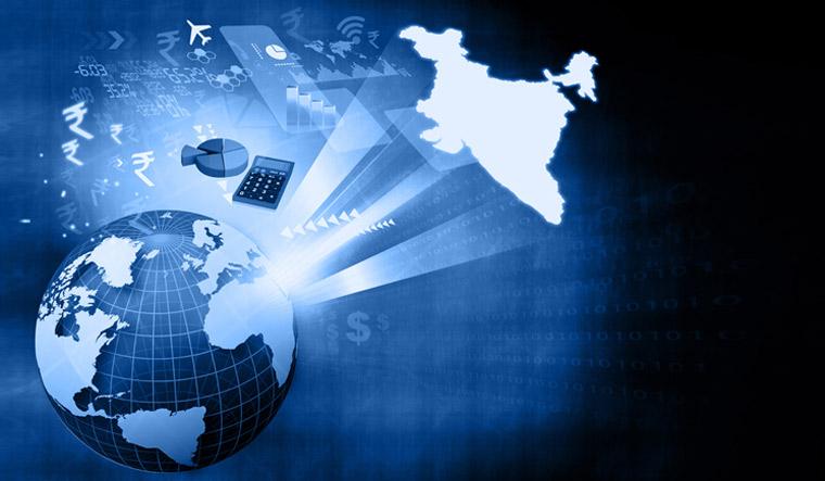 india-global-economy-finance-development-ranking-globe-shut