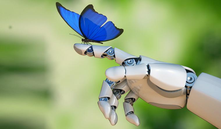 Butterfly-robot-hand-technology-nature-shut