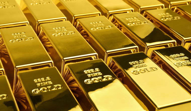 Gold-bullion-bullion-Gold-bar-shut