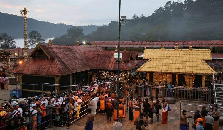 Lor Ayyappa temple in Sabarimala