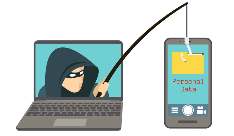 Phishing-scam-smartphone-computer-digital-hacker-attack-web-security-fraud-online-scam-steal-data-shut