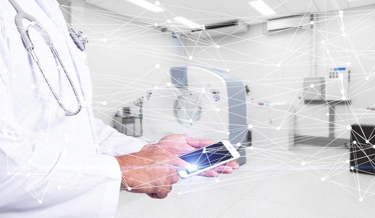 doctor-networked-digital-modern-hospital-phone-shut