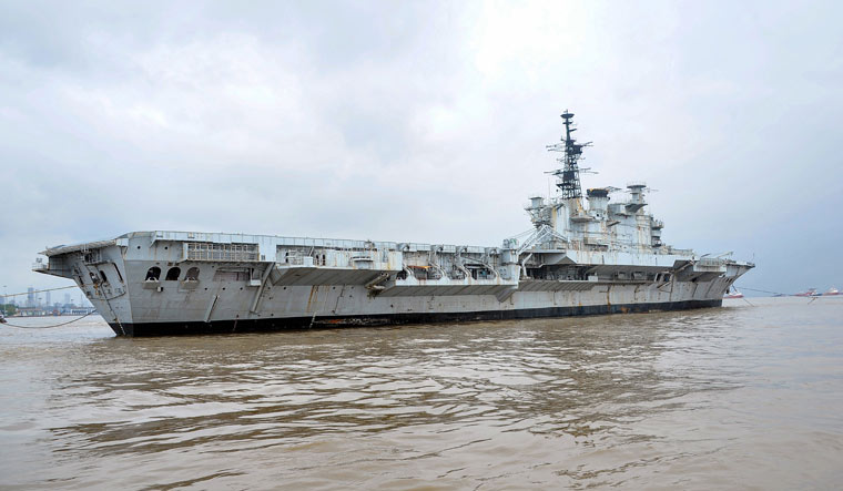 India's decommissioned aircraft carrier INS Viraat | PTI