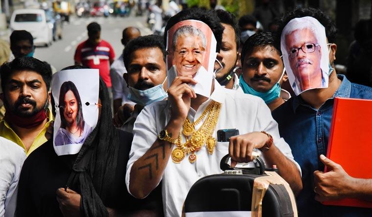 kerala gold protest