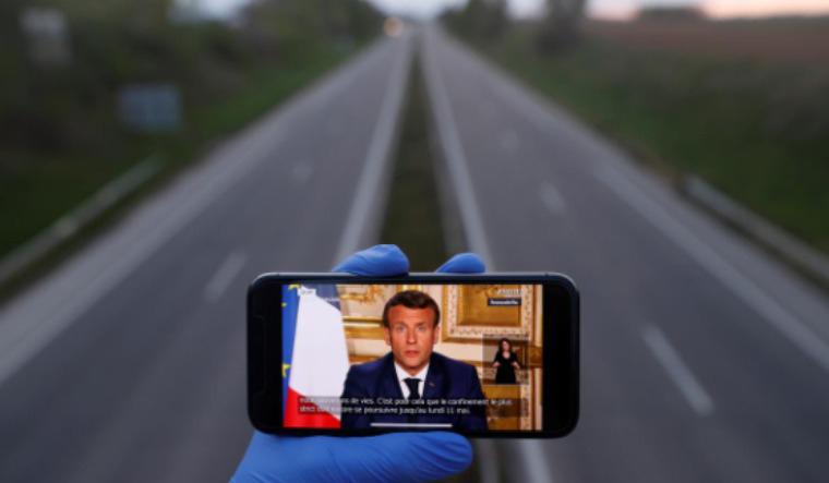 Macron speech reuters