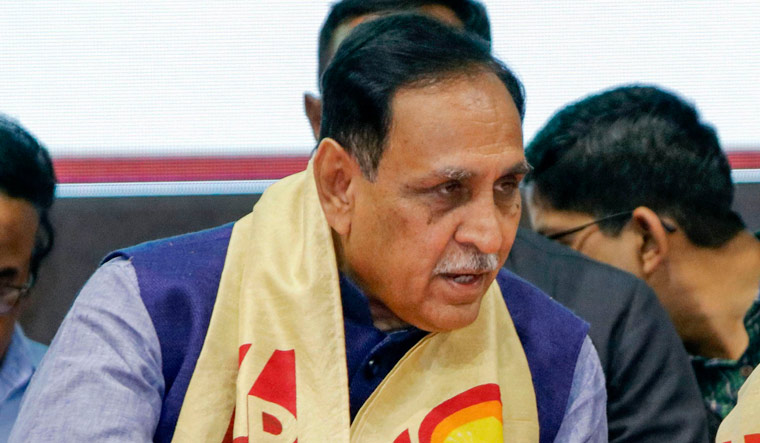 Gujarat Chief Minister Vijay Rupani   PTI