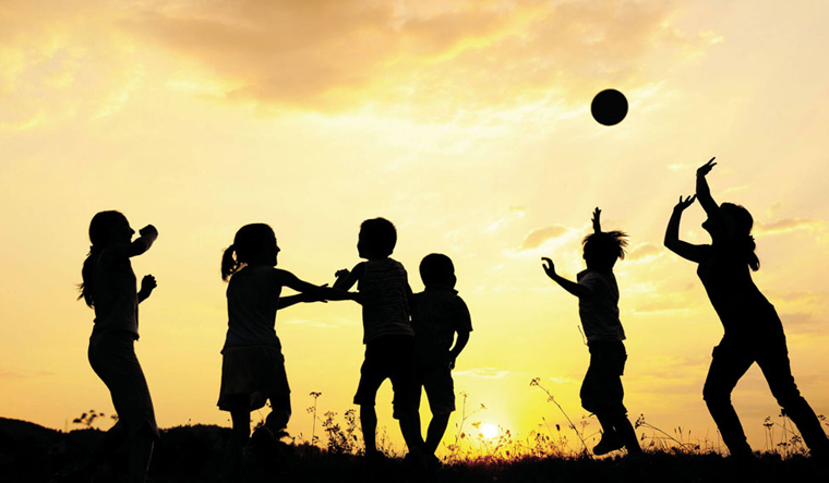 kids-play-nature-ball-enjoy