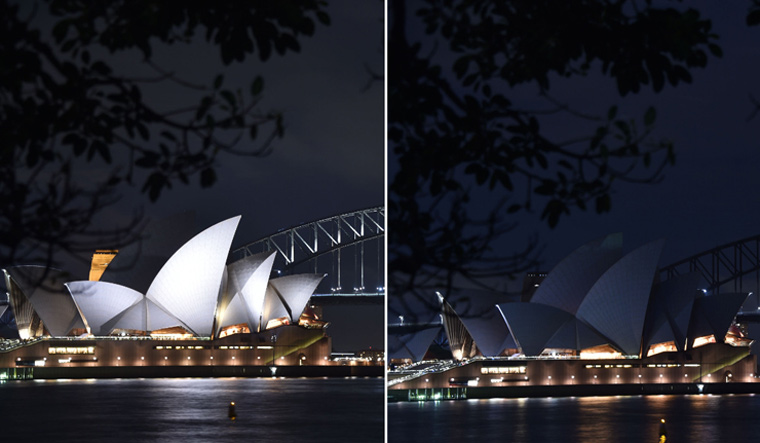 World Cities Go Dark for Earth Hour to Highlight Climate Change
