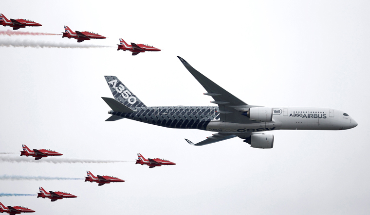 Farnborough Airshow 2018: Day one in numbers