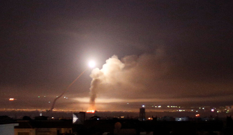 Iranians Killed in Israeli Attack near Damascus
