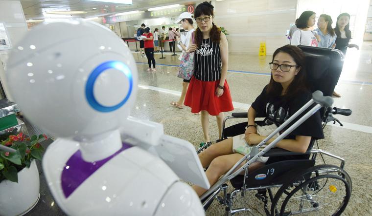 CHINA-TECHNOLOGY-ROBOT