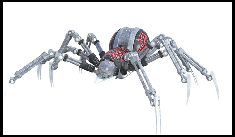 Tiny, flexible robotic spider could aid future surgeries