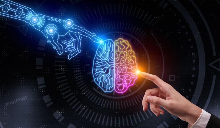 Artificial-intelligence-AI-glowing-digital-brain-future-shut