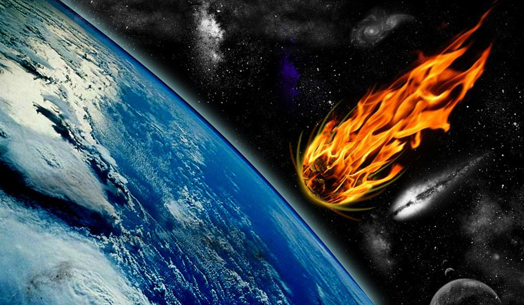 Meteor blast 10 times power of Hiroshima bomb