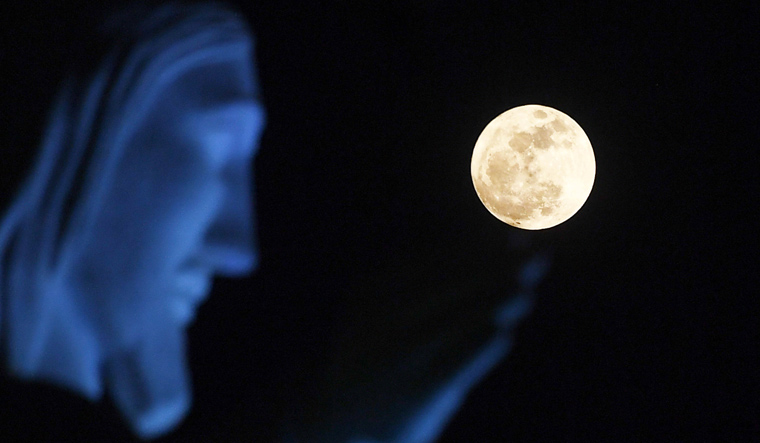 Super worm moon: the last supermoon of 2019 to coincide with spring equinox