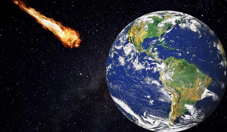 Giant asteroid to fly by Earth this week