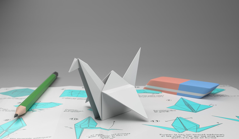 Origami-inspired materials may help spacecraft survive collisions