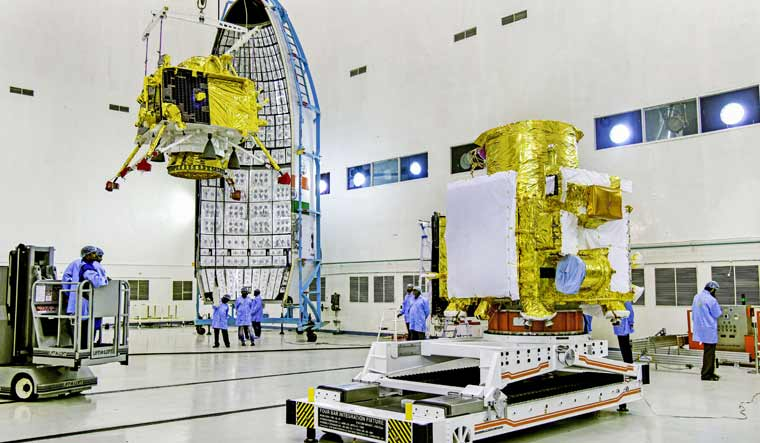 Chandrayaan 2 set to take off amid cloudy weather