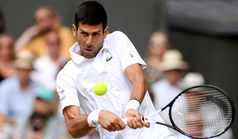 Djokovic returns Wimbledon AFP