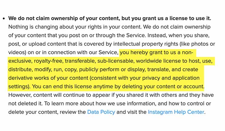 Instagram-terms-and-conditions