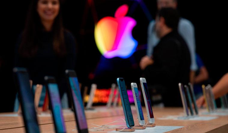 Apple-logo-iPhones-11-AFP