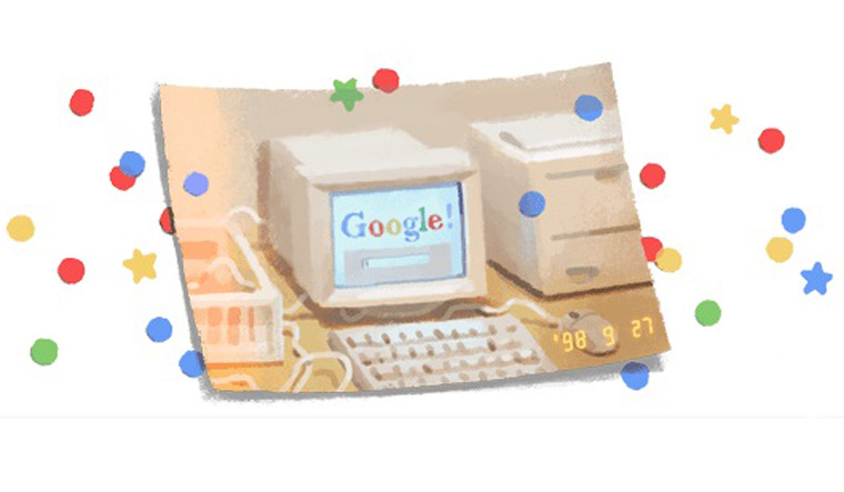 Google turns 21, celebrates birthday with doodle